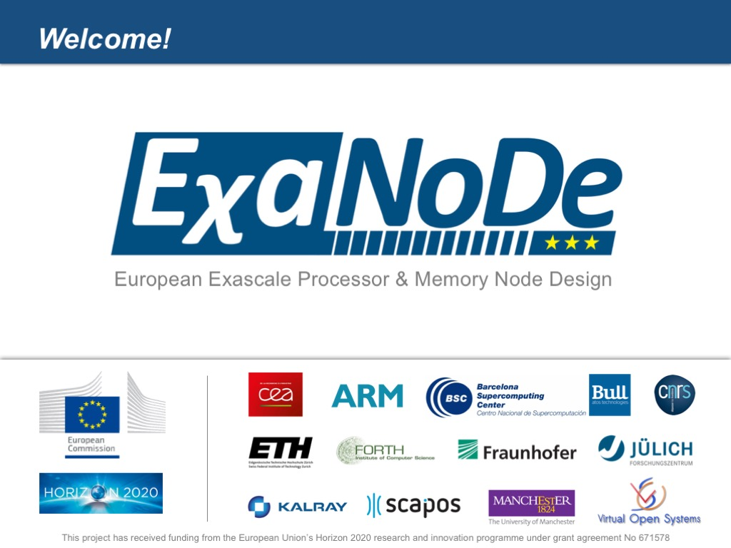 EχaNoDe – Project Presenation