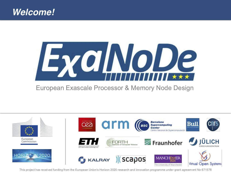 EχaNoDe – Project Presenation